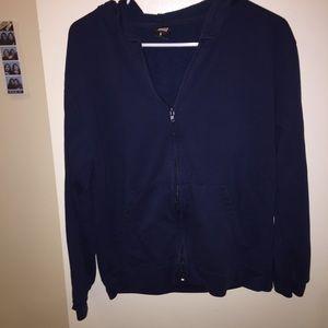 Jackets & Blazers - FREE - Dark blue  sweatshirt / hoodie under